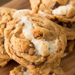 Reese's Marshmallow Peanut Butter Chip Cookies.