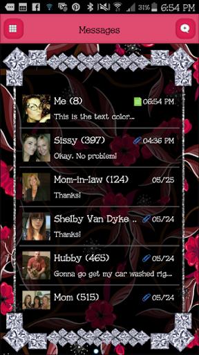 GO SMS - DivineDiamonds1