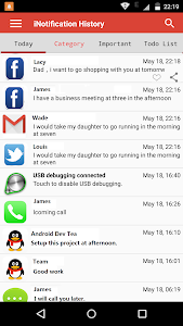 Notification History Master screenshot 1
