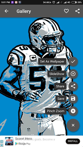About Luke Kuechly Wallpaper NFL