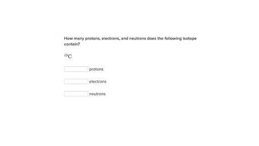 Worked example Identifying isotopes and ions video – Protons Neutrons and Electrons Practice Worksheet
