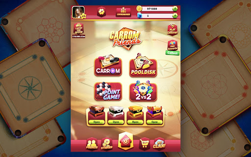 Carrom Friends : Carrom Board Game modavailable screenshots 12