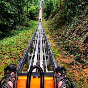 Smoky Mountains Alpine Coaster by Chuck Hagan - Instagram & Mobile iPhone (  )