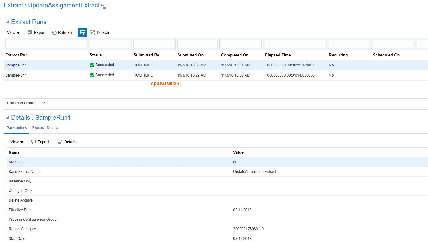 Generating  dat files from HCM Extracts In Oracle HCM Cloud