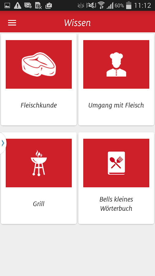 Bell - Die Grill-App- screenshot