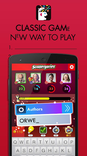 Scattergories Screenshot