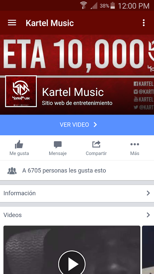 KartelMusic.Net- screenshot