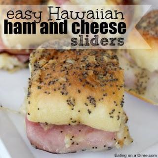 Hawaiian Ham and Cheese Sliders.