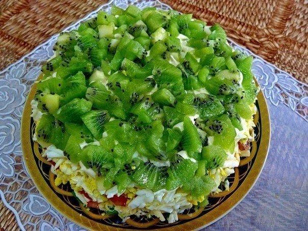Salad «Emerald placer» Recipe | Yummly