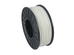 White PRO Series ABS Filament - 3.00mm (1kg)