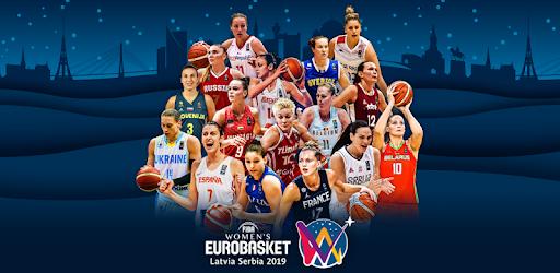 Eurobasket 2019 Schedule FIBA Women's EuroBasket 2019   Apps on Google Play