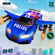 Police Flying Car Transform Robot Shooting Games Android apk