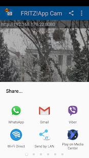 FRITZ!App Cam - náhled