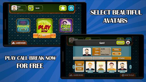 Call Break Plus  gameplay   by HackJr.Pw 5