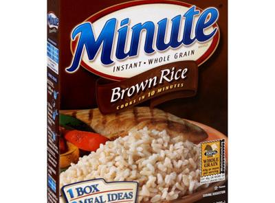 Add the brown rice, stir, cover, and turn to low heat. Set the timer...