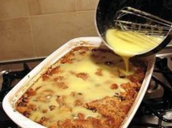 English  Bread Pudding