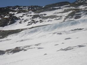 """Photo: no tako se """"iskri"""" ostanek ledeniškega sveta"""