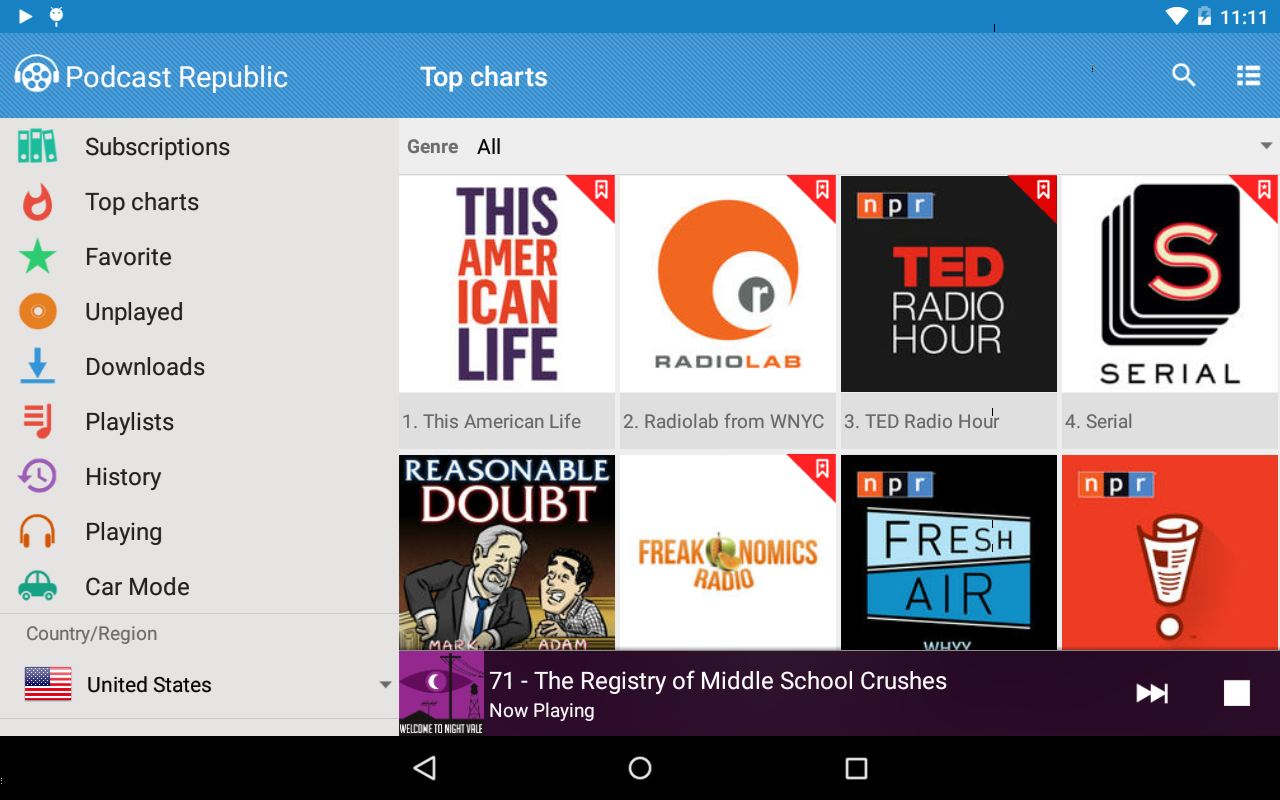 podcast republic android apps on play