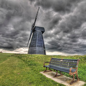 windmill rottingdean by Mark West - Landscapes Travel
