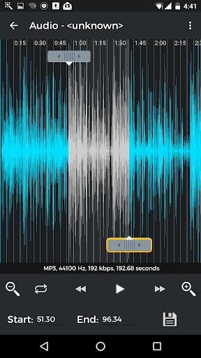 MP3 Cutter & Ringtone Maker 3.6 screenshots 3