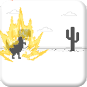 Download Dino Saiyajin Runner T-Rex Chrome APK to PC