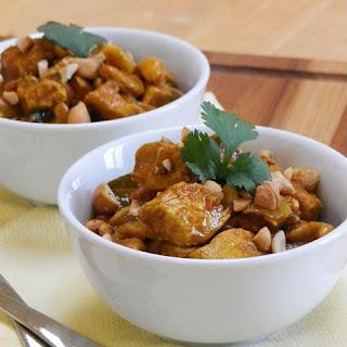 Chicken with Cashews (Balti Murgh)