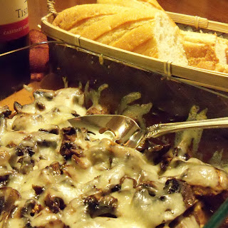 Manchego Mushrooms Recipe