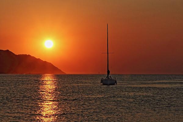 Un tramonto per due, vista mare! di francymas