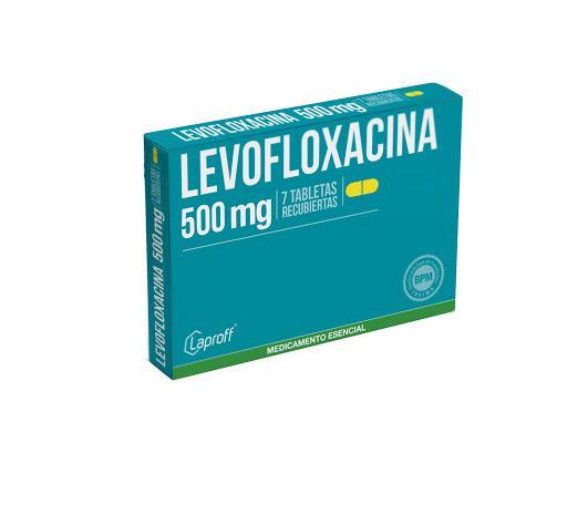 levofloxacina 500mg 7tabletas laproff