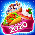 Food POP: Gravity world Puzzle game(Food burst 2) icon