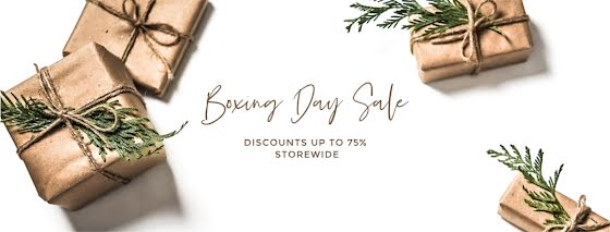 Boxing Day Sale - Facebook Page Cover Template