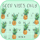 Pineapple Vibe Keyboard Theme Download for PC Windows 10/8/7