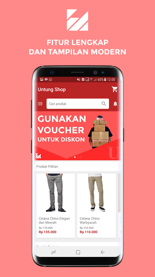 Bikin Aplikasi Online Shop (dan Delivery!)- screenshot