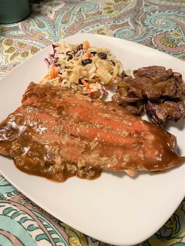 Brown Sugar & Dijon Grilled Salmon