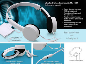 Photo: Folding Headphone - C 31