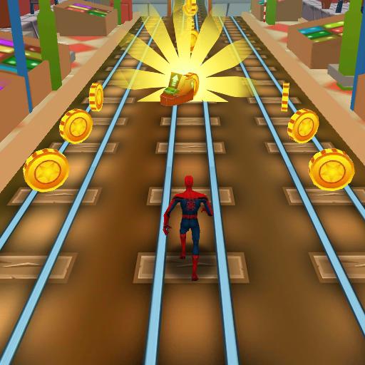 Subway Avengers Rush: Spiderman, Batman, Ironman (game)