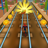 Subway Avengers Rush: Spiderman, Batman, Ironman