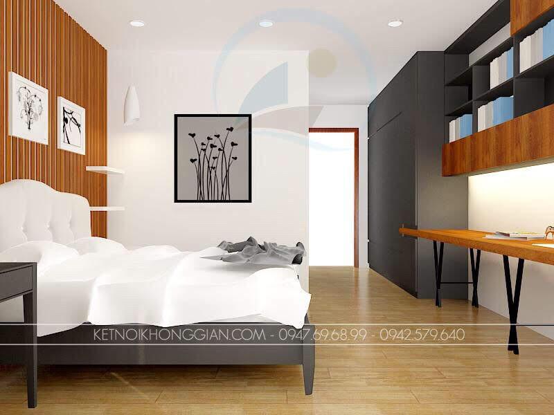 thiết kế phòng ngủ đơn giản 3