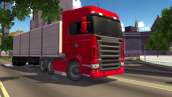 Těžká nákladní Transport Truck - náhled