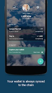 NEM Wallet by Freewallet- screenshot thumbnail