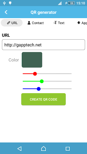 QR Code Generator screenshot 2