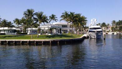 Photo: Everyone should have a boat in their backyard.
