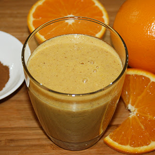 Spiced Orange Coconut Chia Smoothie