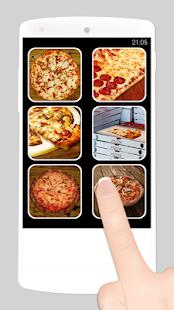 falešný hovor pizza