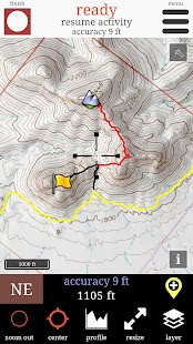 Route Scout - GPS Topo Mapper- screenshot thumbnail
