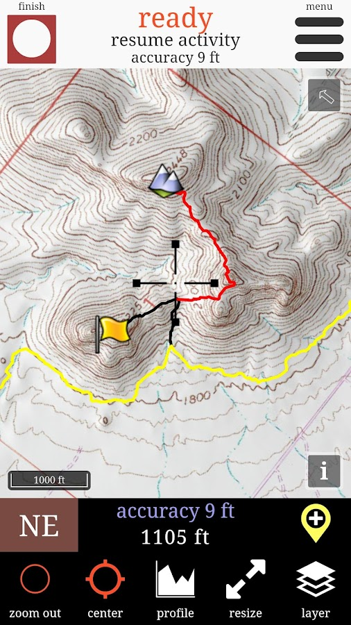 Route Scout - GPS Topo Mapper- screenshot
