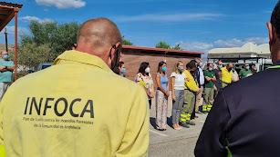 Acto celebrado en el CEDEFO de Alhama de Almería.
