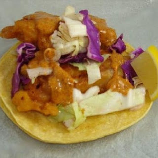 Fish Tacos with Pineapple Cole Slaw.