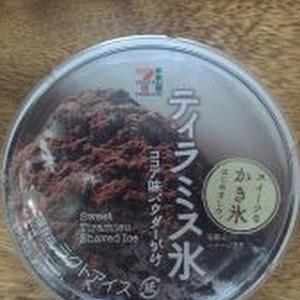 ティラミス氷 コンビニオリジナル