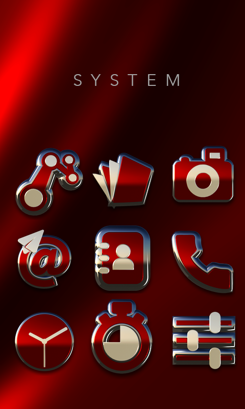 Rebel Icon Pack- screenshot